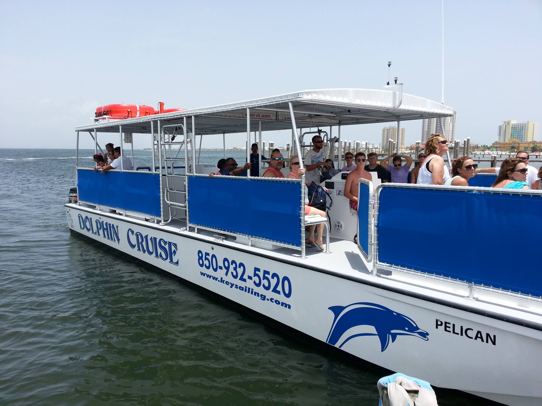Glass Bottom Boat Tours In Pensacola Florida