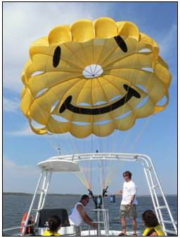 We Don T Guarantee That You Won Get Wet So Bring Anything With Want To Or Lose Can Parasail At Any Age