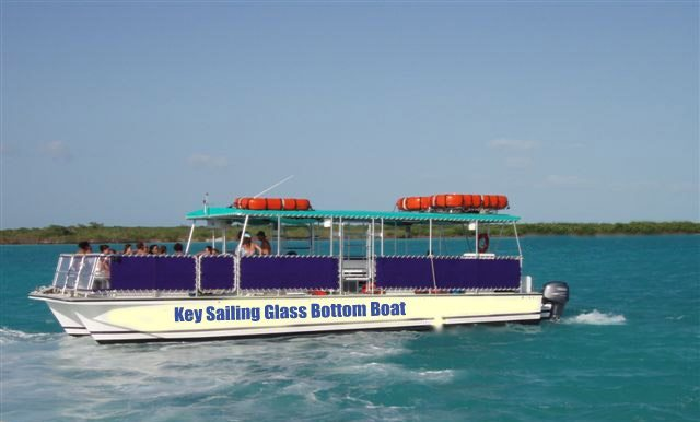 Duck key glass bottom boat consider, that