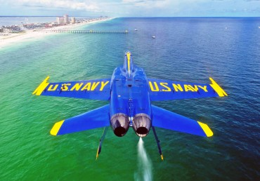 Watch the Blue Angels!