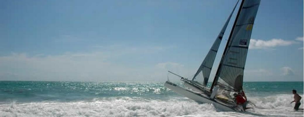 This Is A Catamaran Regatta That Runs 300 Miles From Orada In The Florida Keys To Daytona Beach Up