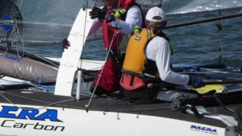 Key Sailing Team on Nacra F20 Carbon